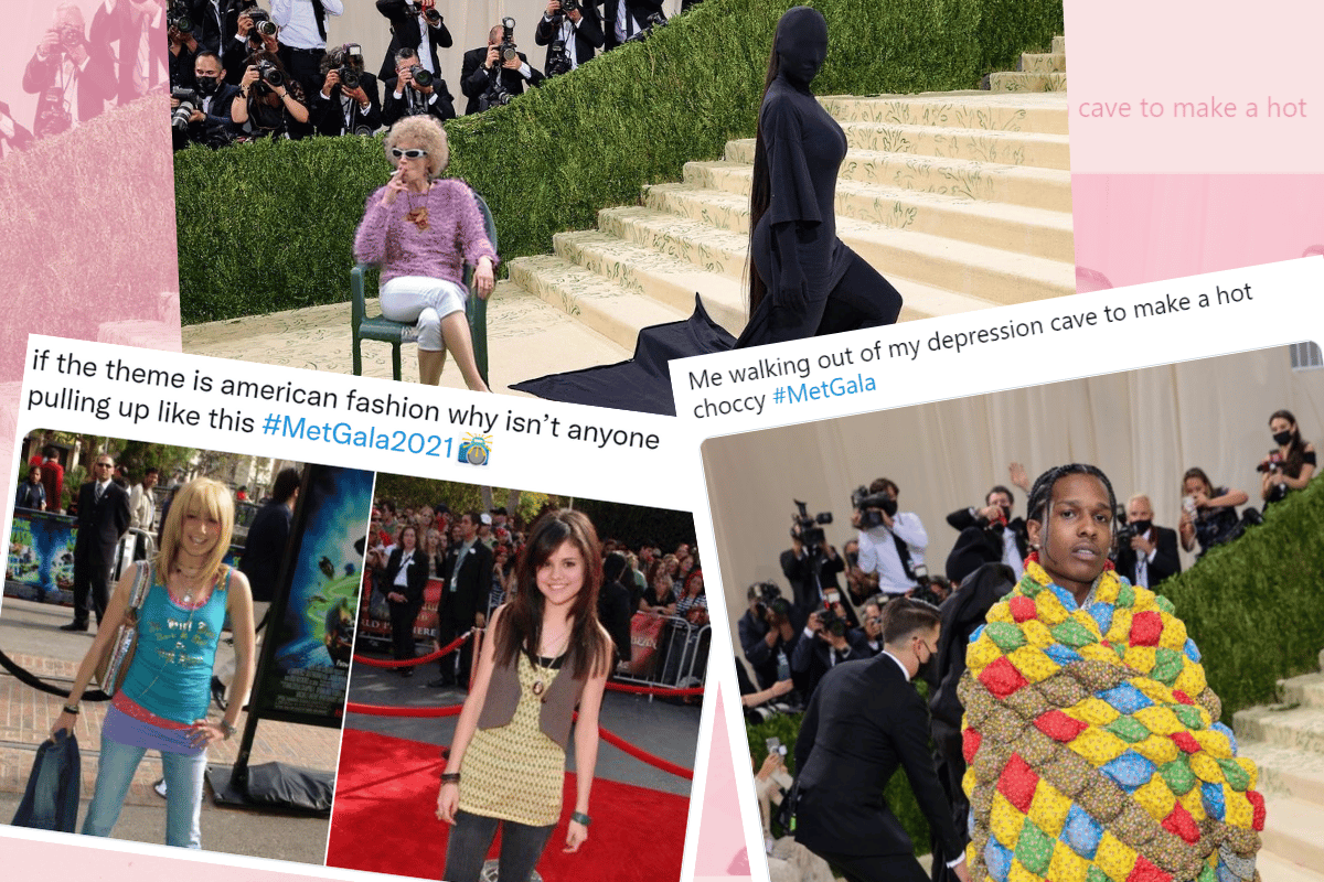 The 15 funniest memes from the 2021 Met Gala.
