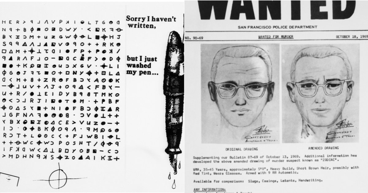 The Zodiac Killer was never caught. Now, one of his taunting codes has been cracked. - Mamamia