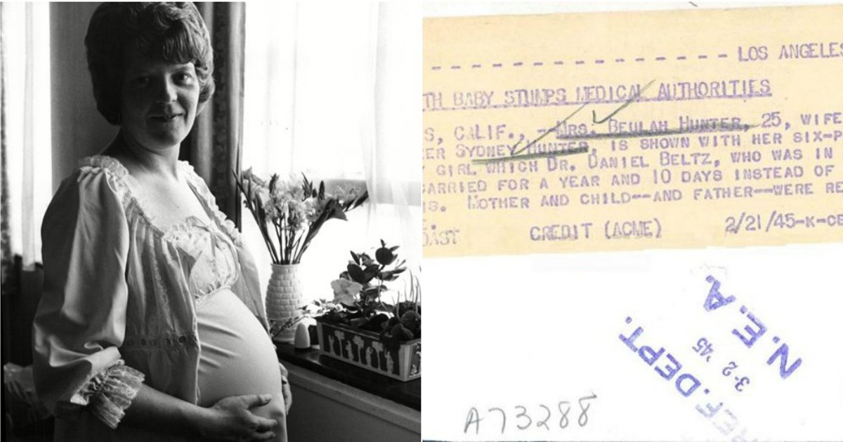 For world longest pregnancy record Woman has