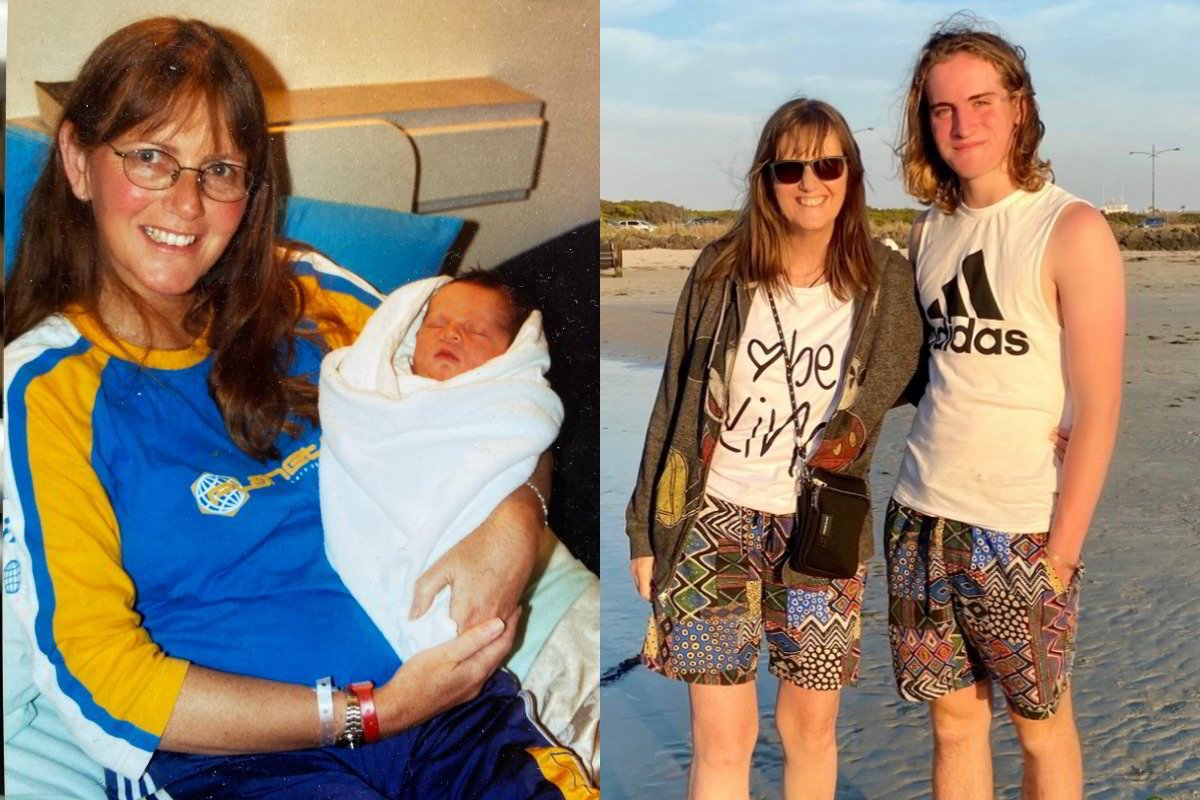 "'I had my son at 45. This is what I wish people knew about being an ""older mum.""'"